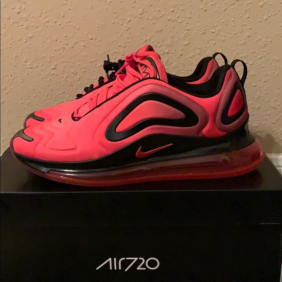 Nike Shoes Air Max 720 Red Black Poshmark